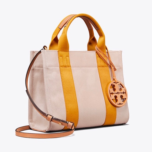 4520ee941 Tory Burch Miller canvas mini tote